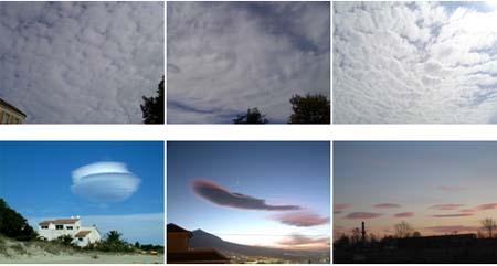 انواع ابرها